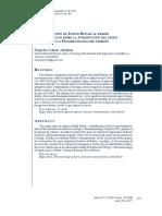 Abellón, Pamela - La contribución de Judith Butler al debate norteamericano sobre la introducción del deseo (Begierde) en la Fenomenología del Espíritu