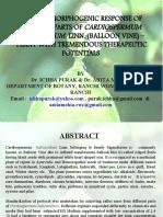 In Vitro Morphogenic Edited