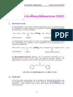 2 Synthese de La Dibenzylideneacetone