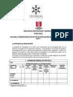 Formato RG-DIyDT-5 PROPTA INVESTIGACIÓN PROFESORAL -NUEVO