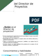 Rol Del Director de Proyectos
