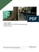 TOS36033 5620 SAM R10.0 Fundmentals-Student Guide