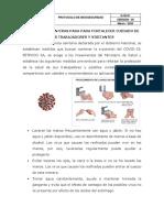Protocolo de Bioseguridad - Petroco SA
