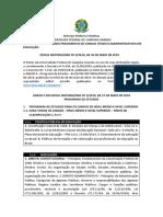 Edital Reitoria-SRH Nº 3 - 2019 - CONTEÚDOS PROGRAMÁTICOS