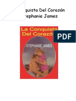 Stephanie James - La Conquista Del Corazón