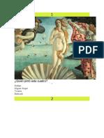 custionario historia del arte
