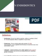 Asepsis in Endodontics