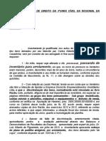 0 - PARTILHA AMIGÁVEL MODELO