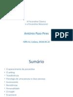 Psicanálise Clássica vs  Relacional.pptx