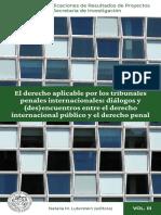 El derecho aplicable por los tribunales penales internacionales - UBA.pdf