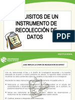 Recolección  de instrumentos de investigacion