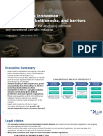 Lux Research - Cannabusiness Innovation Executive Summary 2019