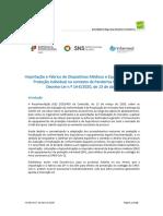 Informação dispositivos e EPI