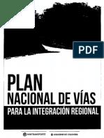 Plan Nacional de Vías para la Integración Regional - PNVIR
