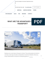 What are the advantages of road transport _ Freight Delivery Services.pdf