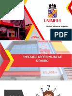 ENFOQUE DIFERENCIAL DE GÉNERO