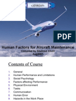 15750363 Human Factors for Aircraft Maintenance