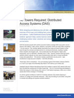 No Towers Required Distributed Access Systems