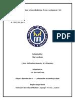 MARYAM RAZA (LHR 2061) ASSIGNMENT 04 (Introduction to IT Skills)