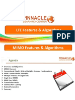 3 .MIMO Features & Algoritms