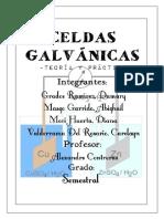 Celdas Galvanicas