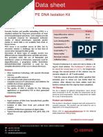 dATA SHEET FFPE  DNA Isolation Kit (1)