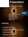 Apple iPhone in India (Final)