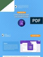 7. Crear evaluaciones con Google Forms