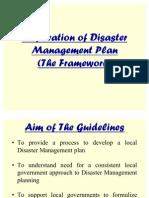 2_Planning the Framework_Disaster Management Plan 23 Sep 2010