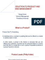 UNIT 1-Introduction to Product and Brand Management