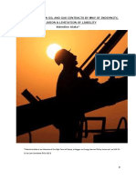 11. RISK ALLOCATION IN OIL AND GAS CONTRACTS BY WAY OF INDEMNITY, EXCLUSION & LIMITATION OF LIABILITY