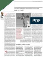 O novo fardo do homem ocidental, e cristão