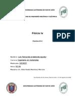 practica # 1,4,5 Fisica IV