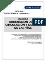 U6. Ordenacion de la circulación y del uso de las vias