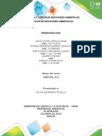 Unidad 2 fase 3 CONSTRUIR INDICADORES AMBIENTALES