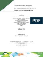 FASE 2 – MODELOS DE INDICADORES AMBIENTALES
