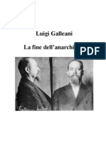 Luigi Galleani La fine dell'Anarchismo?