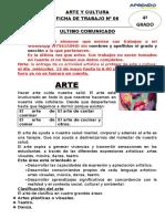 Ficha de Trabajo Nª 6 Cuarto de Secundaria (1)