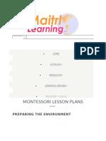 Montessori Education about