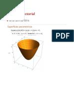 Superficies parametricas