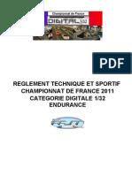 Reglement Sportif Champ de France 2011-4-1
