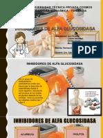 Inhibidores Alfa Glucosidasa