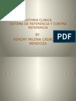 HISTORIA CLINICA Y REFERENCIA Y CONTRAREFERENCIA