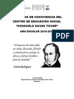 ACUERDOS DE CONVIVENCIA AÑO ESCOLAR 2019-2020 07-10-2019