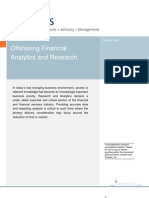 2008 Off Shoring Financial Research & Analytics