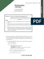 AP Comp Sci A Practice FRQ 1