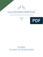 Evidencia de producto estudio de caso