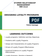 Lesson 5 - Designing Loyalty Programs.ppt