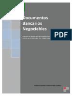 Documentos bancarios negociables