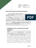 Apelacion- Miguel Moya Huerto  - Bonificacion 30% + 5% por preparacion de clases
